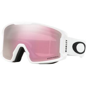 Oakley Line Miner XM Snow Goggles matte white/prizm snow hi pink iridium